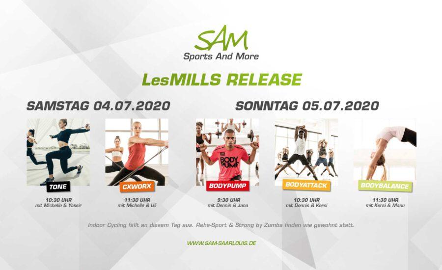 LesMills Release Juli 2020