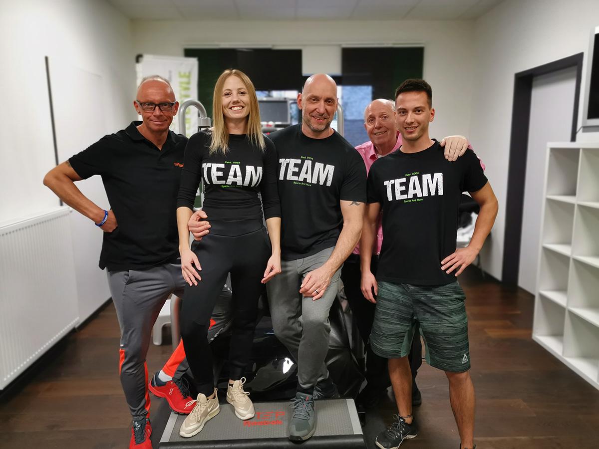 Reiner Calmund Trainer-Team Saarlouis