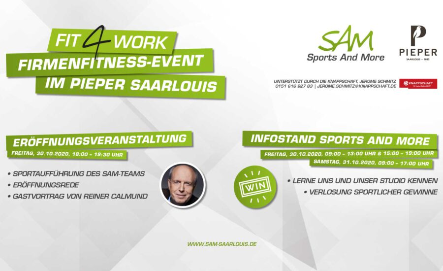 Firmenfitness-Event bei Pieper Saarlouis