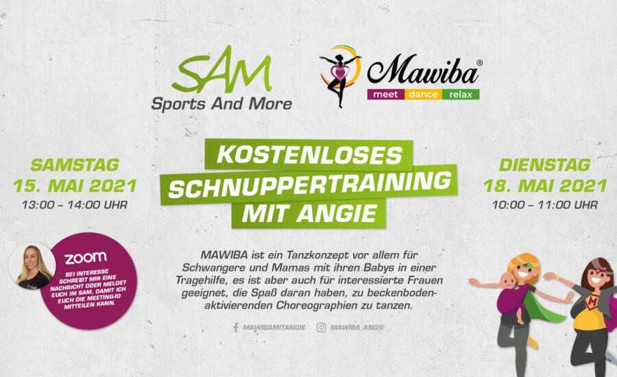 MAWIBA-Training mit Angie