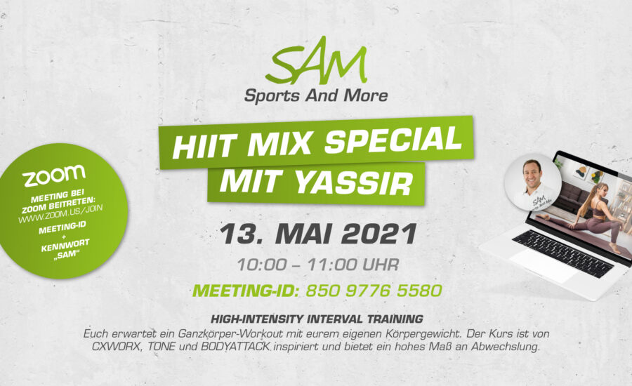 HIIT MIX Special mit Yassir