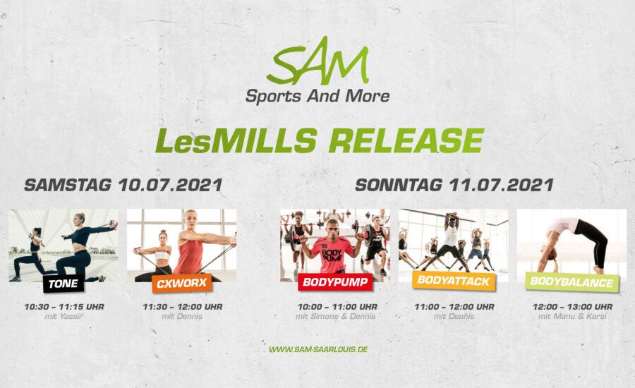 LesMills Release Juli