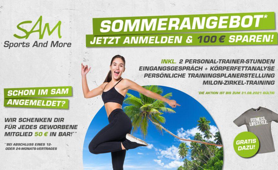 Angebot: Anmelden und 100 € sparen!