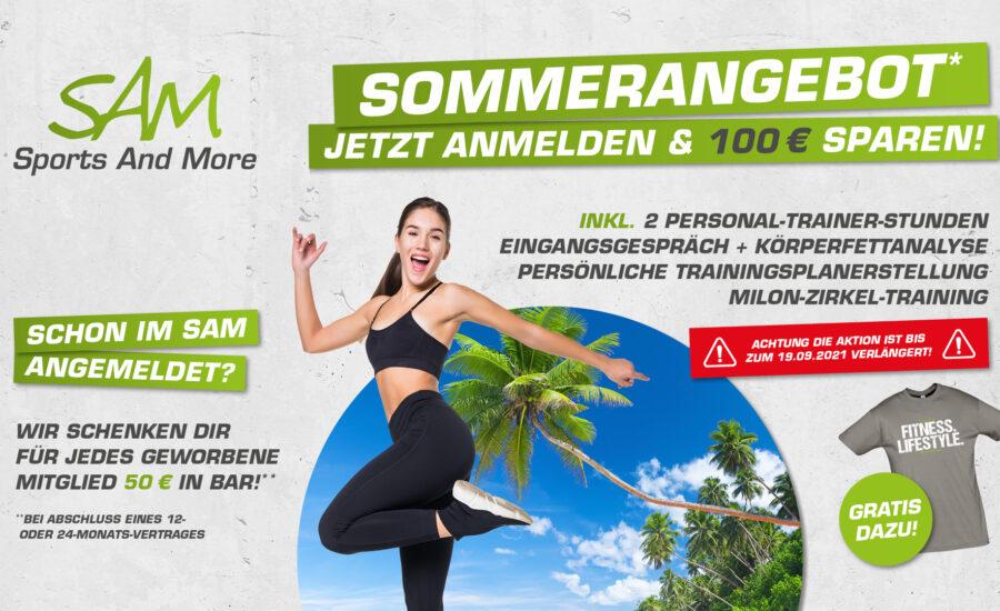 Verlängert: Anmelden & 100€ sparen!