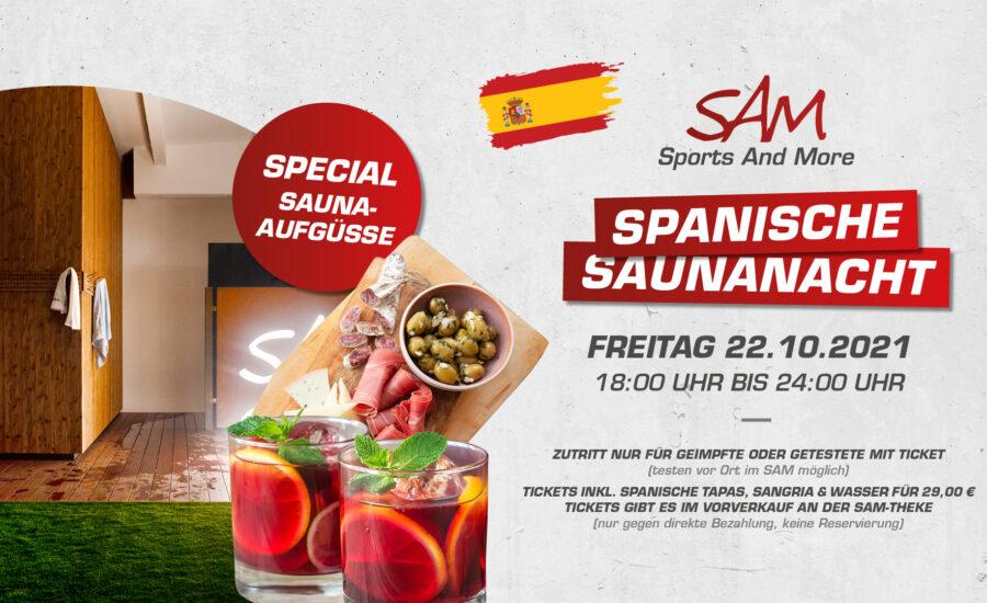 Spanische Saunanacht